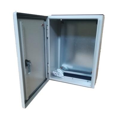 корпус шкаф распредустройство металлическая 400x300x200 IP