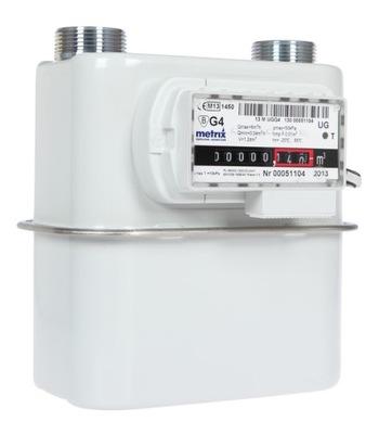 Plynomer METRIX G4 G L-130 + zvlnenie spoločné+ pásy