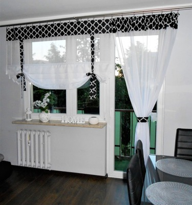 Firana Firany Balkon Panele Wybór Kolorów 280 350