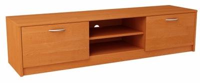 Шкаф столик RTV 2DC 160 см Ольха комод, книжный шкаф