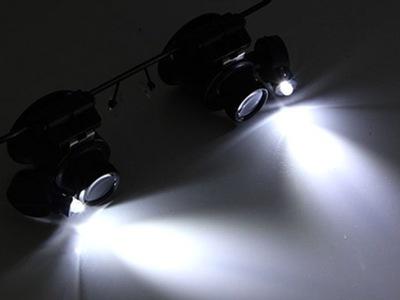 ЛУПА-ОЧКИ ZEGARMISTRZOWSKA МОЩНАЯ LED-20-15 мм доставка из Польши Allegro на русском