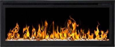 elektrické Krby LED 2v1 ŠIROKÉ ohnisko!