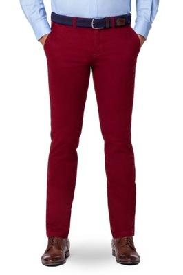 2458b265 Spodnie Chino Czerwone Lancerto Pedro II 182/92