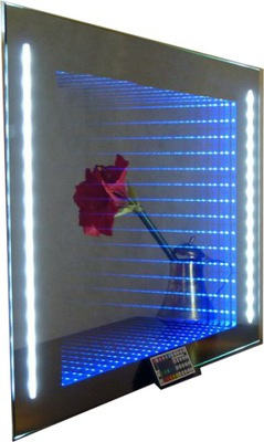 2 В 1 зеркало LED ГЛУБИНА 3D 80X60 RGB Г -1