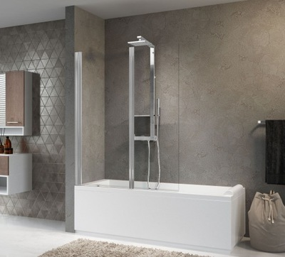 Sprchové dvere - NOVELLINI AURORA 2 NAVÁNIOVÝ OBRAZ 120 CM