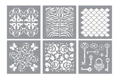 Шаблоны декупаж шаблон pattern творческий 15x15