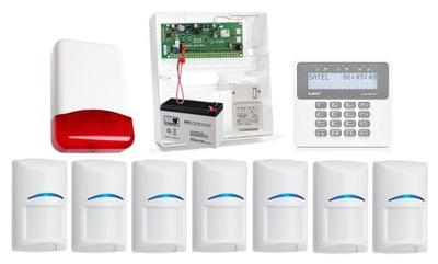 СИСТЕМА охранной СИГНАЛИЗАЦИИ SATEL PERFECTA 16 GSM PUSH 7 Bosch