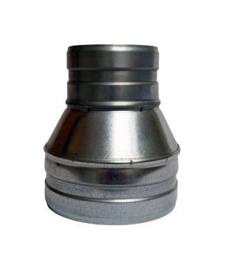 Zníženie 120/100 hadice spiro kapota ventilátor