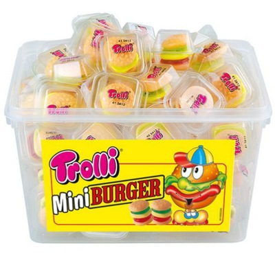 супер Драже Троллей мини Burger 60 штук
