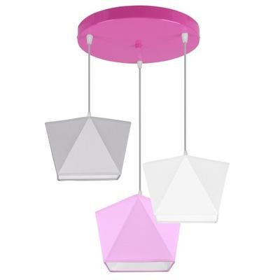 Лампа подвесной светильник люстра детский плафон LED Цвет