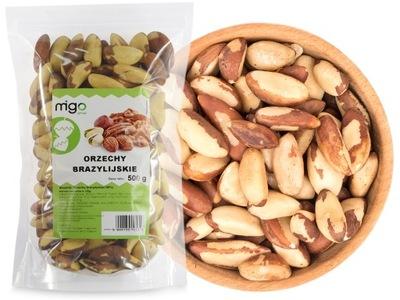 БРАЗИЛЬСКИЕ орехи Ноль ,5 кг, Натуральный продукт! - MIGOgroup