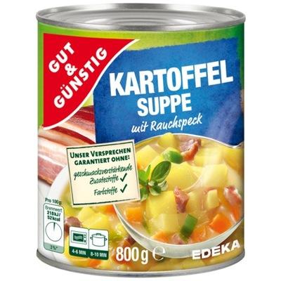 Суп картофельная с беконом 800г