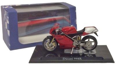 Мотоцикл Кофр Ducati 988R Масштаб 1 :24