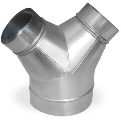 Tee Y 250 / 150 pozinkované flex, TERMOFLEX krb