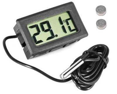 Termometr panelowy tablicowy z sondą -50 110 C