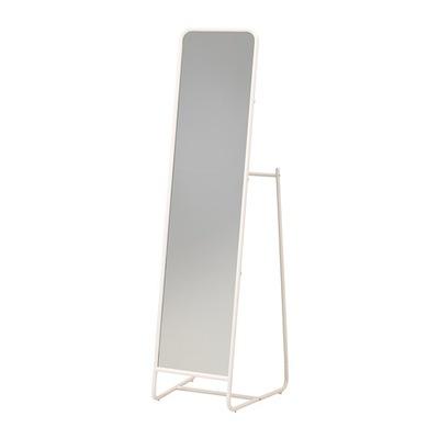 Икеа KNAPPER зеркало с вешалкой стоящие белое
