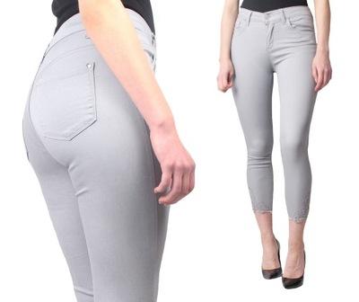 6eadcaec699c72 Damskie Spodnie Rurki Jeans ze Streczem 3790 86 cm 7478296266 ...