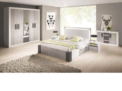 Мебель Спальня комплект шкаф зеркалом комод Белый