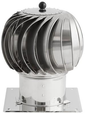 Komínová strieška, hlavica - Rotačný komín TURBOWENT 200 OCAL DARCO