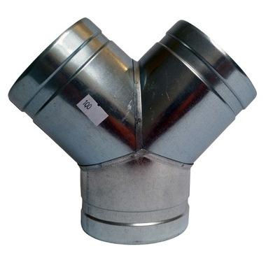 Tee Y 3x110mm kapota, hadica, filter spiro