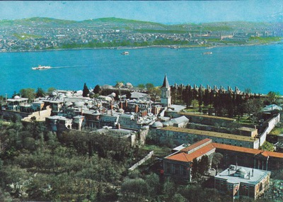 Турция - СТАМБУЛ - ДВОРЕЦ ТОПКАПЫ - С высоты ПТИЧЬЕГО ПОЛЕТА