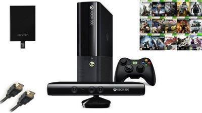 Xbox 360 S Kinect Pad 5 Gier Gwarancja 7088094066 Allegro Pl Wiecej Niz Aukcje
