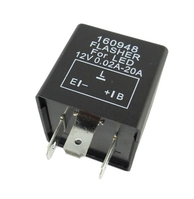 Прерыватель указателей поворота 12В для LED правый +
