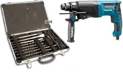 Makita HR2631F с AVT и LED SDS + комплект 17 шт