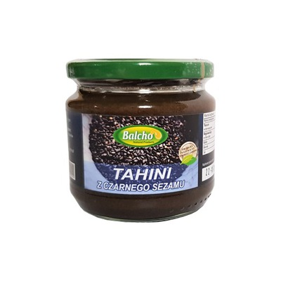 Pasta z Czarnego Sezamu BALCHO TAHINI SEZAMOWE