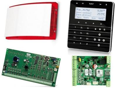 ALARM SATEL INTEGRA 64 a DOTYKOVÝ displej INT-KSG-BSB, GSM