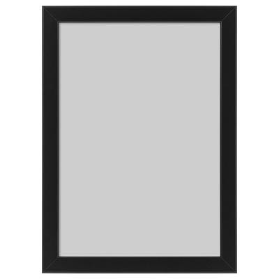 Икеа FISKBO клетки на фото-Рамка 21x30 A4 черная