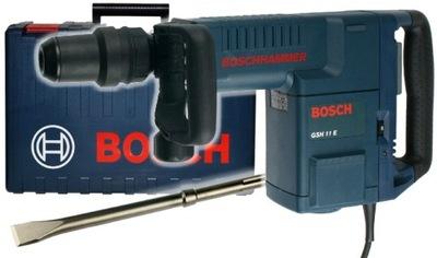 Отбойный МОЛОТОК GSH 11 E Bosch - SDS-Max класс 11kg + ЗУБИЛО