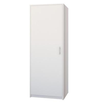 СОВРЕМЕННАЯ шкаф СТЕЛЛАЖ СТОЙКА белая МОДЕЛЬ-42