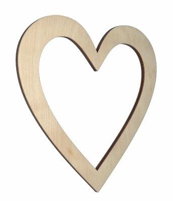 сердце Декор scrapek украшение Дерево декупаж SD8
