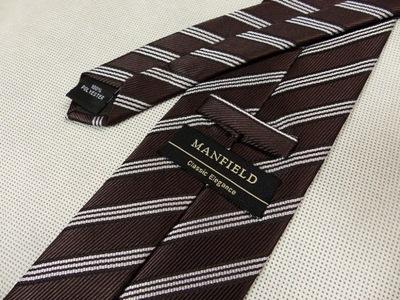 AAK25 Krawat męski MANFIELD