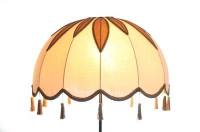 вручную obszywany абажур, абажур на лампу