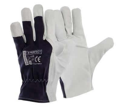 перчатки X-PERFECT КОЖАНЫЕ рабочие КОЗЬЯ кожа 10