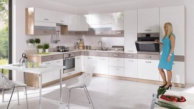 GLOBAL Кухня модульная мебель Кухонные в блеске