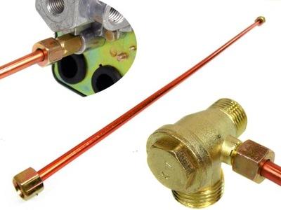 трубка ODPRĘŻNIK 40 клапана, пресостат для компрессора