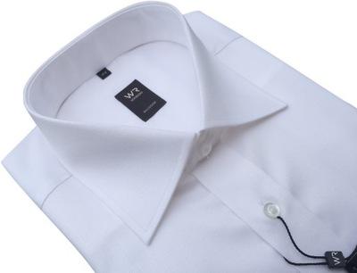 WILLSOOR Koszula Biała Spinki 100% Baw 188 194, 41  kXRFJ