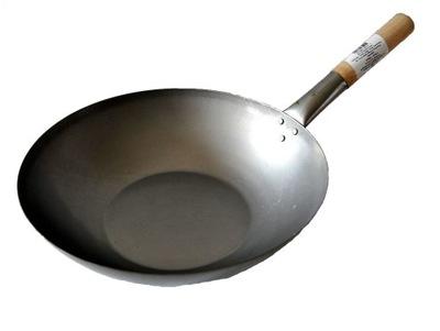 Сковорода  ???  14 Дюймов плоская Дно Китайский 35см KK