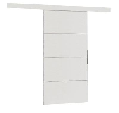 двери раздвижные настенные MULTI плюс 90 белое