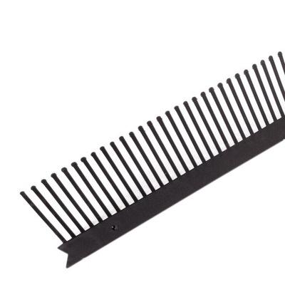 гребень карниз вытяжка плоский против воробьев 60мм Черный