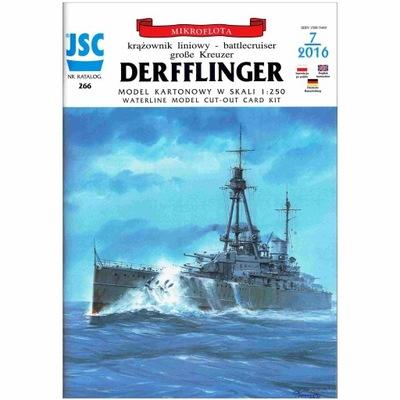 ОАО-266 - Крейсер линейный DERFFLINGER 1 :250