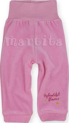 Spodnie spodenki welurowe z szerokim pasem 62 cm
