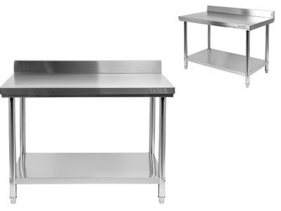 Pracovný stôl, stavebný podstavec -  TABUĽKA PRACOVNÍKOV RUKAVICE RANT 80x60cm NEREZOVÉ OCELI