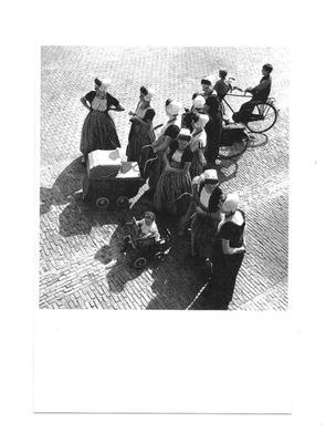 Pocztówka - Holenderskie matki z dziećmi, 1939 r.