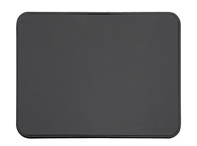 Жесть, под печь камин 80x50 черная