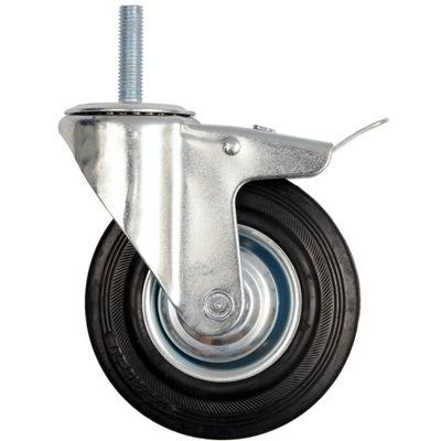 KÓŁKO koło SKRĘTNE Z HAMULCEM 100mm 87332 VOREL