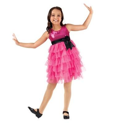 sukienka OKAZJE taniec DO TAŃCA  SK817 6-7lat